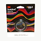 3M 70293 Scotchcal Striping Tape, Low Gloss Black, 1/8 in x 40 ft