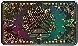 Balai Tapis de Jeu de Cartes Magie Parfaite pour Magic The Gathering, pour Pokemon, Hearthstone, Yugioh,...