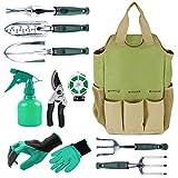 Inno Stage Organiseur pou outils de jardinage Sac fourre-tout avec 10outils de jardin, idée cadeau, avec...