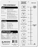 Référence Medical carte d'évaluation de la douleur pour infirmière Docteur médical professionnel