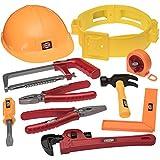 Outils de bricolage pour enfants avec perceuse, casque et tout l'équipement d'un bricoleur - Mieux qu'une...