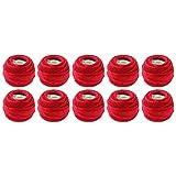 MCD DMC Pearl Coton Balles, Taille 8, Noël, Rouge