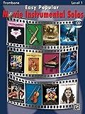 Easy Popular Movie Solos (trombone/CD) --- Trombone solo - Various --- Alfred Publishing