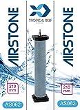 Classica as062Koi poissons pour aquarium ou bassin en céramique 40x 40x 220mm Cylindre Rond Air Air...