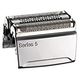 Braun Pièce de Rechange 52S Argentée pour Rasoir Compatible avec les Rasoirs Series 5