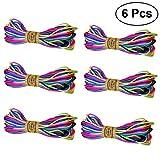 TOYANDONA Coloré Nylon Garniture Cordon 20m Kumihimo String Chinois Noeud Shamballa Macramé Bracelet Fil DIY...
