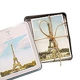 Lvcky 32pièces Ensemble de Cartes Postales Vintage Global Paysage Vierge d'expédition Carte Postale Lot...