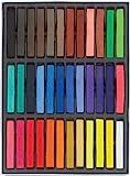 HAIRCHALKIN 36 non-toxique temporaire des cheveux Pastel Chalk Kit de beauté