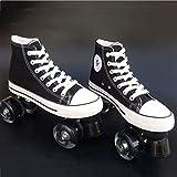 AA- skates LBX Toile Adulte Double rangée de Patins à roulettes Patins Adulte Hommes et Femmes Double...