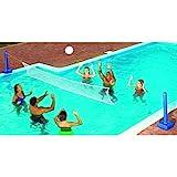 Swimline 9186SL Jammin 'Creusée Cross Piscine Volleyball Jeu
