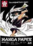 Manga paper, Sacura, Bristol 20, 250g / m², A4, 20 sheets