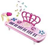 Piano pour enfants, clavier électronique multifonction à 37 touches Jouer Instruments de musique pour piano...