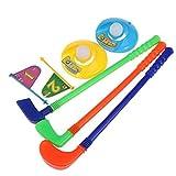 OFKPO Ensemble de Golf Jouet pour Enfants, Mini Golf en Plastique Jeu de Balles Enfants Plein Air Jouet de...
