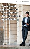 Tout ce qu'il faut savoir sur la conception d'un site Internet monétisable
