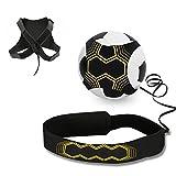 Ceinture d'entraînement pour football, Mopalwin Ballon de football d'entraînement avec élastique Ajustable...
