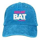 Kiss My Bat Softball Snapback Cotton Hat