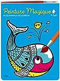 Peinture magique à l'eau : Les animaux de la mer. Avec un pinceau - Dès 3 ans