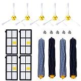 CNASA Kit Pièces accessoires pour iRobot Roomba serie 800 805 850 860 865 866 870 871 880 886 890 891 895 896...