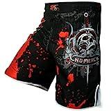Short UFC MMA de combat professionnel à gel incorporé Tigon Sports - Pour arts martiaux mixtes, lutte, kick...