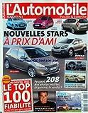 AUTOMOBILE MAGAZINE (L') [No 789] du 01/02/2012 - NOUVELLES STARS A PRIX D'AMIS - PEUGEOT 208 - NOS PHOTOS...