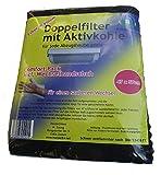 C-lean House Double filtre avec confort à charbon actif -. Emballez changer de gants incl coupe individuelle,...
