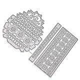 Provide The Best 3D Vintage panier Carbon Dies de coupe en acier Crafts Pochoir gaufrage Fournitures de...