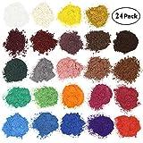Colorant de savon Pigments de poudre de mica pour la bombe de bain Colorant de fabrication de savon