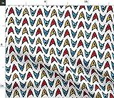 Tissu Sci FI - Star Trek Nerdy Spock Space Travel Geek Imprimé sur Tissu par The Yard pour Couture Artisanale...