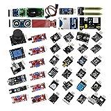 Luxtech Composant Electronique Kit de Modules de Capteurs Total 45 en 1Paquet Module DIY Que Le Kit de...