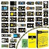 KEYESTUDIO Kit DE 37-en-1 Modules Capteurs de UNO R3 Mega 2560 Nanoavec Tutoriels en Anglais Composants...