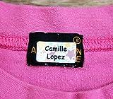 120 x Étiquettes Autocollantes Pour Vêtements, Doudous Et Affaires | Stickers Personnalisés | S'appliquent...
