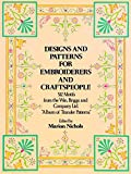 Designs and Patterns for Embroiderers and Craftspeople (Dover Pictorial Archive) (English Edition)