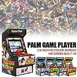 Zexa Mini Machine de Jeux d'arcade - Console de Jeux rétro Classique 16 Bits Console Jeux d'arcade Portables...