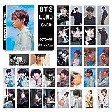 Skisneostype Lot de Cartes postales Kpop BTS Bangtan Boys, cartes à collectionner pour album photos, cadeau...