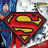 Simplicité Medium Superman Logo thermocollant Applique, Polyester, Multicolore, 7.98x 0.2x 7.67cm