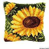 Kit coussin au point noué Tournesol