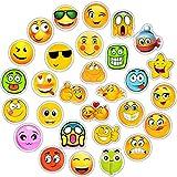BEASILE Autocollant 50 pcs drôle Smiley Autocollants Cartoon émoticône décor Autocollants Planche Portable...