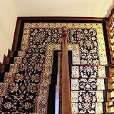 Oliwia Tapis d'escalier - Tapis d'escalier - Tapis d'escalier Auto-adhésif sans Colle - Tapis antidérapant -...