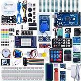 ELEGOO Arduino Mega 2560 R3 Kit de Démarrage Ultime Le Plus Complet avec Manuel d'Utilisation Français pour...