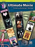 Ultimate Movie Inst Solos Tb (with CD) --- Trombone/Piano --- Alfred Publishing