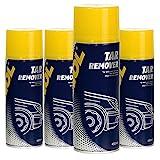 X 450ml MANNOL 9668Tar Remover/goudron de décapant pour insectes spray