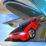 Airplane Flight Car Transport Cargo Truck Simulator 3D: Transport de voitures de course furieuses et rapides...